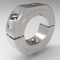 Shaft Mounting Collars Two-Piece Split Clamp-Type Stackable