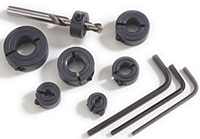 Drill Stop Collar Kits One-Piece Split Clamp-Type