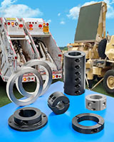 Large Bore Shaft Components for Heavy-Duty Special Purpose Vehicles
