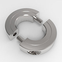 Balanced Shaft Collars Two-Piece Split Clamp-Type