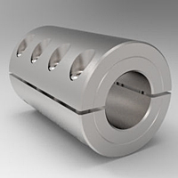 Two-Piece Split Clamp-Type Rigid Shaft Couplings - Stainless Steel