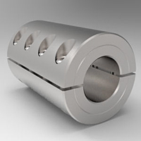 Two-Piece Split Clamp-Type Rigid Shaft Couplings