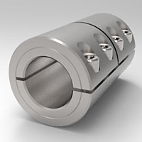 Metric Rigid Shaft Couplings One-Piece Split Clamp-Type