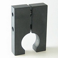 Rail Stops Two-Piece Clamp-Type - Steel