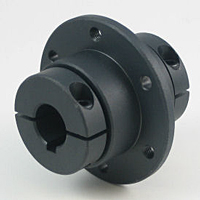 Precision Sleeve Flange Couplings One-Piece Clamp-Type - Steel
