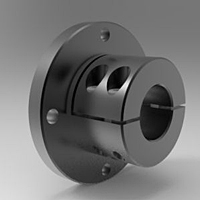 Flanged Shaft Mounts - Steel