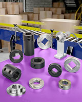 Shaft Collars, Couplings & Mounts Engineered To Conveyor System Requirements