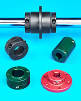 Clamping Shaft Collars Feature Precision Mounting Face
