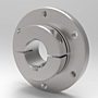 Accu-Flange™ Shaft Mounting Collar - Stainless Steel