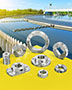 Shaft Collars and Couplings 316 Stainless Steel for Wastewater Treatment